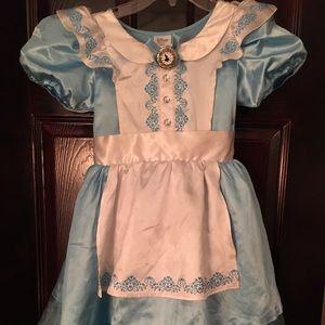 Disney Store Alice in Wonderland Dress